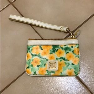 Dooney & Bourke Petunias design wallet!